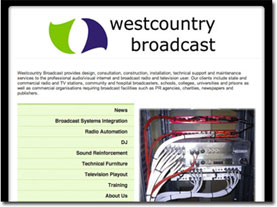 Westcountry Broadcast Home Page